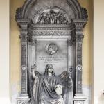 Monumento funebre Gandini Morelli Bugna Bottagisio 1863 - Verona, Cimitero Monumentale (con Grazioso Spazzi)