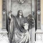 Monumento funebre Gandini Morelli Bugna Bottagisio (dettaglio) 1863 - Verona, Cimitero Monumentale (con Grazioso Spazzi)