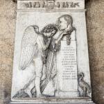 Monumento funebre  Sparavieri (dettaglio) - Cimitero Monumentale di Verona