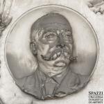 Monumento funebre  Alessandro Orti (dettaglio) - Carlo e Attilio Spazzi - Cimitero Monumentale di Verona