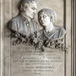 Grazioso (?) e Carlo Spazzi, Monumento funebre Biondello (dettaglio), 1870 ca., Verona, Cimitero Monumentale
