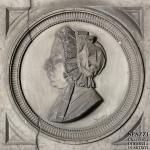 Monumento funebre Rosa Neola, dettaglio 1872  -  Cimitero Monumentale di Verona