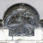 Monumento funebre  Giuseppe Zuccoli 1910- Carlo e Attilio Spazzi - Cimitero Monumentale di Verona