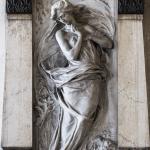 Monumento funebre Calderara, 1911 - Carlo e Attilio -  Verona, Cimitero Monumentale