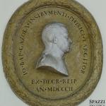 Medaglione con il ritratto di Giovan Battista Gazzola, 1802, Verona, Biblioteca Civica
