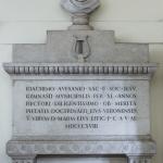 Monumento a Gioacchino Avesani, 1818, Verona, Biblioteca Civica