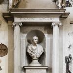 Monumento al matematico Pietro Cossali, 1815, Verona, basilica di Sant'Anastasia