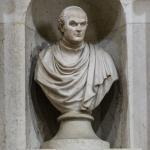 Monumento al matematico Pietro Cossali (dettaglio), 1815, Verona, basilica di Sant'Anastasia