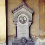 Monumento funebre Nogarola, poi Wagner – Carlo e Attilio Spazzi – Cimitero Monumentale di Verona (prima del restauro)