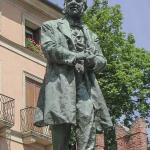 Monumento a Fedele Lampertico 1924, Vicenza, piazza Matteotti - Carlo Spazzi