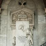 Monumento funebre per Angela Lampertico 1895 - Carlo e Attilio Spazzi -  Vicenza, Cimitero Monumentale