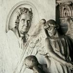 Monumento funebre per Angela Lampertico 1895 - Carlo e Attilio Spazzi - Vicenza, Cimitero Monumentale (dettaglio)