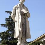 Monumento all'Abate Giacomo Zanella 1893 -Carlo Spazzi -  Vicenza, piazza San Lorenzo