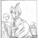 L'Astronomia, disegno preparatorio, 1861 ca. – A.S.Vr.