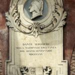 Monumento a Dante Alighieri - 1865, Rovigo, Palazzo Comunale
