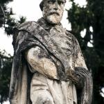 Monumento a Garibaldi 1886, Lendinara (Ro) - dettaglio