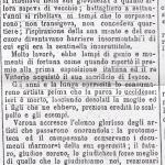 Articolo per la morte di Grazioso Spazzi, L'Adige 13-9-1892