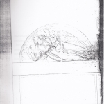 disegno di Giovanni Spazzi per la tomba Bassani inviato il 20-10-1850 alla Congregazione Municipale di Verona