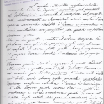 Lettera di Gr. Spazzi per proporre la partecipazione di altri artisti alla statua a Sanmicheli, 6-7-1853