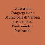 Lettera alla Congregazione Municipale di Verona per la tomba Pindemonte - Moscardo_1