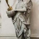 Angelo reggipila 1795 - Pacengo (VR), parrocchiale (firmato col suo maestro Francesco Zoppi)