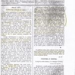 Monumento Brenzoni - Supplemento al Collettore dell'Adige, 3-11-1852