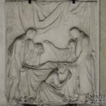 Monumento funebre Angela Erbisti 1852 - Verona, palazzo Forti