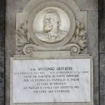 Monumento funebre Olivieri 1909 – Carlo e Attilio Spazzi – Cimitero di S. Bonifacio (Vr)