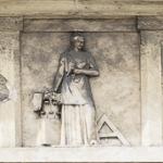 Pantheon Ingenio Claris (dettaglio metope)  1861 - Verona, Cimitero Monumentale