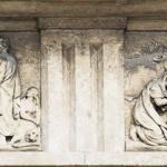 Pantheon Piis Lacrimis (dettaglio metope) 1844 - Verona, Cimitero Monumentale