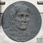 Monumento funebre Olivieri, dettaglio con Adelaide Carrero 1926 - Carlo Spazzi - Cimitero di S. Bonifacio (Vr)