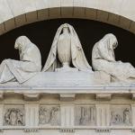 Grazioso e Carlo Spazzi - Prefiche 1882 - Verona, Cimitero Monumentale