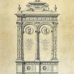 Studio presso la Scuola d'Arte applicata all'Industria 1881 circa - Attilio Spazzi (fototeca Biblioteca Civica VR)