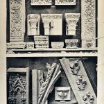 Elementi decorativi presenti nel laboratorio di C. e A. Spazzi (fototeca Biblioteca Civica VR)