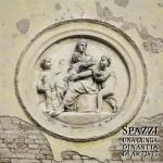 Medaglione con Allegoria della Carità 1830-31 ca, parrocchiale, Commessaggio (Mn)