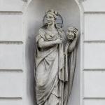Statua di Melpomene 1822 - Teatro Sociale, Mantova