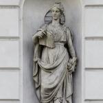 Statua di Talia 1822 - Teatro Sociale, Mantova